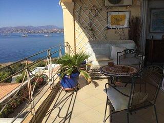 Saronida floating above the sea elegant apartment - Saronida vacation rentals