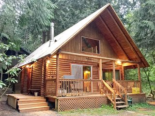 Mt. Baker Rim Cabin #17 - A Rustic Family Cabin with Modern Features! - Glacier vacation rentals