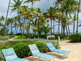 Premier Beachfront Villa, Ocean View in Palmas del Mar (CC34) - Humacao vacation rentals
