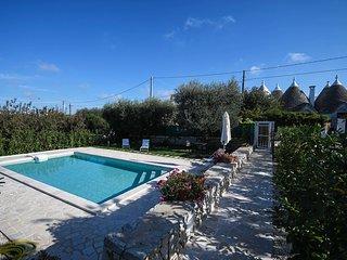 Trullo di Sabina with pool - on Monopoli hills - Monopoli vacation rentals