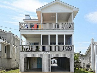 Ocean view 7 bedroom home with large decks and porch! - Bethany Beach vacation rentals