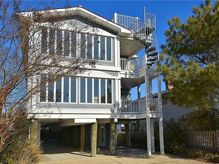 Very Nice! 8 Bedrooms, 6 Bath ocean view home close to the beach - Bethany Beach vacation rentals