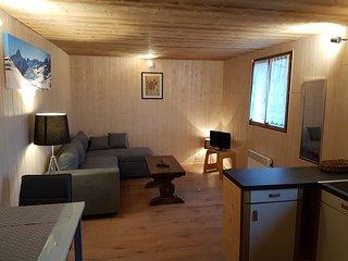 Studio savoyard 25m² dans chalet entre lac et montagnes - Bernex vacation rentals