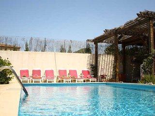 Maison Belarga villa Languedoc with private pool sleeps 12 - Belarga vacation rentals