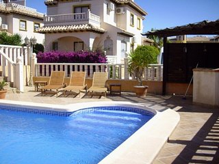 villa with private pool + use of 2nd pool (community) sleeps up to 8 - La Zenia vacation rentals