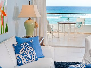 Top-Rated Barbados Beachfront Condo Makes Caribbean Dreams Come True - Saint Lawrence Gap vacation rentals