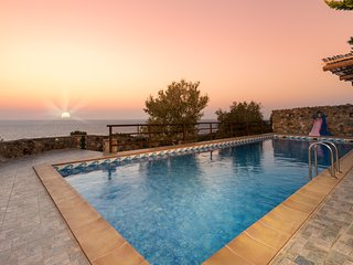 Hilltop Dream Views at villa Lefkothea with Private Pool - Amigdhalokefali vacation rentals