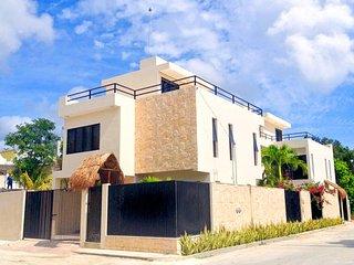 V2 - Beautiful New Villa Tulum Mexico! 3BR or 6BR - Tulum vacation rentals