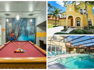 Watersong Disney Villa Huge 4200 sqf in gated area - Davenport vacation rentals