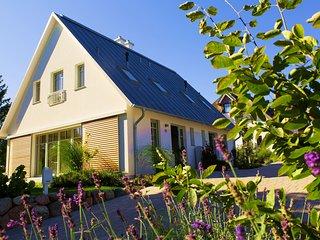 Luxus Ferienhaushälfte mit Kamin, Whirlpool, 2 Terrassen und tägl. Reinigung - Loddin vacation rentals