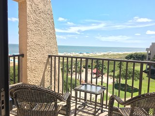 Top Floor Island Club Condo, Great Ocean Views - Sun, Sea, Sport, Serenity. - Hilton Head vacation rentals