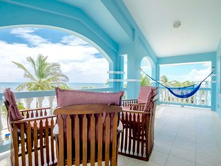 C3: Beachfront with veranda view to Barrier Reef! - San Pedro vacation rentals