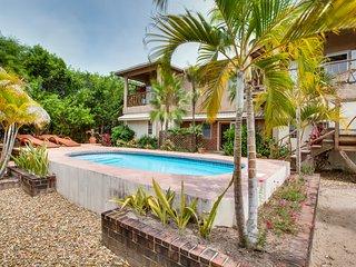 Ground floor custom designed apartment with pool - Placencia vacation rentals