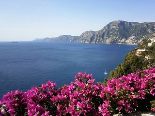 Casa Maremonti, stunning view overlooking the sea towards Positano and Capri - Praiano vacation rentals