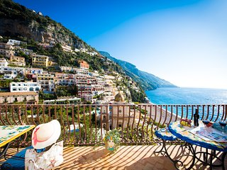 Villa le Sirene-shenic views of Positano & sea - Positano vacation rentals