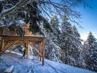 Romantic 1 bedroom Tree house in Saint-Pierre-de-Chartreuse - Saint-Pierre-de-Chartreuse vacation rentals
