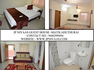 JP Nivaas Guest House - 2BHK Fully Air conditioned - Mayiladuthurai vacation rentals