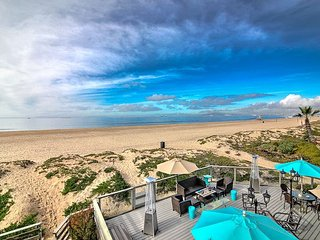 Beachfront Stunner for 8 - Sun, Sleep & Swim by the Ocean! - Sunset Beach vacation rentals