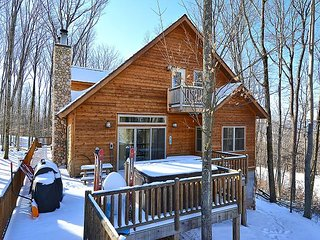 The Den is slopeside on the Twister Ski Trail - Davis vacation rentals