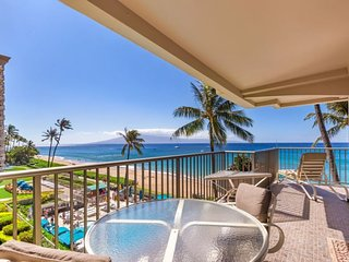 Whaler 401 - Ocean Front One Bedroom, 2 Bath Condominium - Lahaina vacation rentals