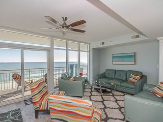 Luxurious Oceanfront Condo, awesome media room, huge balcony with amazing views - Myrtle Beach vacation rentals