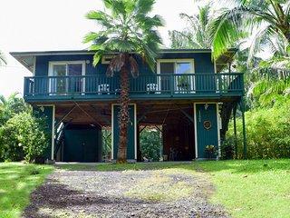 Private Kapoho Home w/Pond, Half Block from Ocean & Wai Opae Tidepools - Pahoa vacation rentals