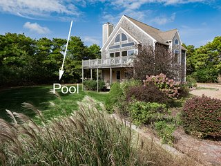 WEISM - Outstanding Tri -Level Katama  Home, Pool, new 18 x 40 Heated Saltwater - Edgartown vacation rentals