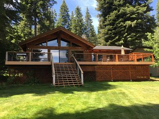 Walker/Buck - Country Club LAKEFRONT with Back Lawn, Dock & Buoy - Lake Almanor vacation rentals