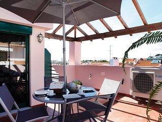 Wondrous terrace apartment in Cascais center - Estoril vacation rentals