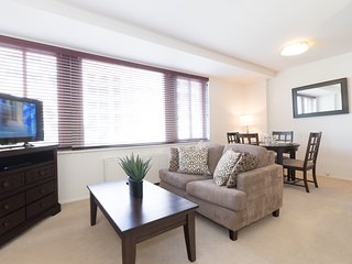 Spacious, Fully Furnished Studio in Foggy Bottom by SeamlessTransiton - Washington DC vacation rentals