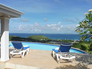 VILLA VUE MER PANORAMIQUE LA SAVANNE PISCINE - 3 CH PROCHE GD CASE ET ORIENT BAY - La Savane vacation rentals