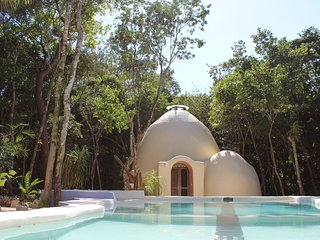 Organic ecological dome/loft , 2 beds sleep 4 - Akumal vacation rentals