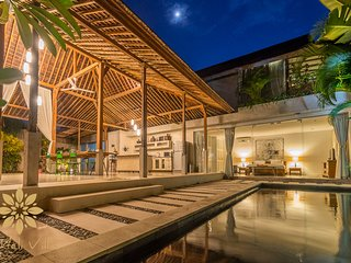 La-Meli Villas: Villa Marie Clare, 3 Bed Chic Villa in Seminyak Batu Belig - Kuta vacation rentals