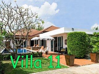 BUSABA POOL VILLA 11 - HUA HIN - Hua Hin vacation rentals