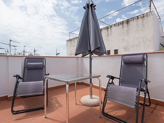 Penthouse with terrace in the historic center - Malaga vacation rentals