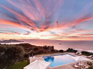 Villa Aphrodite overlooking Capri - Sorrento vacation rentals