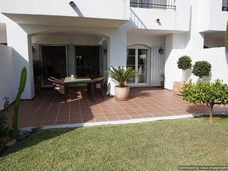 Bright 2 Bedroom Garden Apartment With Large Sunny Terrace R 112 - Benahavis vacation rentals