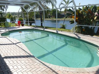 Sunset/Lake View 3BR Pool Home, Modern - Elegant , fully remodeled ! - Bonita Springs vacation rentals