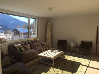 Alpine chic 3 bedroom apartment on walking distant of the skilift. - Fiesch in Valais vacation rentals