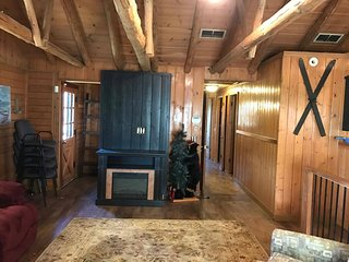 Sleeps 16 Lake View Hike to Lake Secluded 2mi to SDC Beautiful Log Cabin Retreat - Indian Point vacation rentals