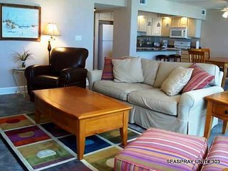 SeaSpray Perdido Key Condo #303 ~ 2 Bedroom Gulf Front!! - Perdido Key vacation rentals