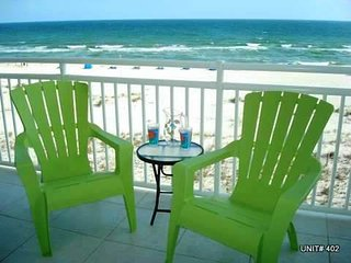 SeaSpray Perdido Key Condo #402 ~ Beautiful gulf front 2 Bedroom condo! - Perdido Key vacation rentals