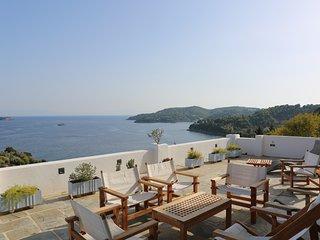 Villa with Breathtaking Sea View - Achladias vacation rentals
