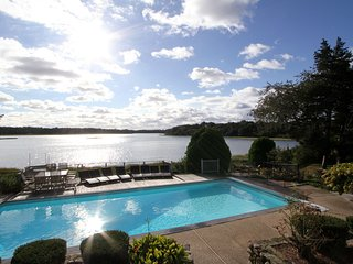 Executive Waterfront Luxury Home. A/C; Heated Pool & Elevator - East Orleans vacation rentals