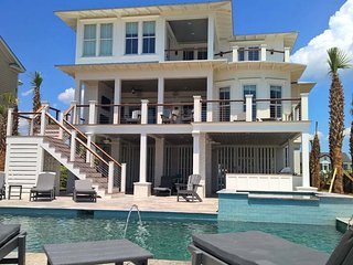 Oceanfront Home with Pool, Spa, Large Kitchen, and Private Beach Access! - Isle of Palms vacation rentals
