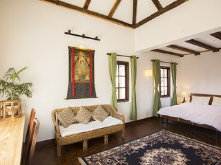 Remodelled attic suite next to green roof terrace - Patan (Lalitpur) vacation rentals