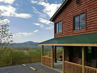 Secluded with Fantastic Views! Game Room-WiFi-Pets - Wears Valley vacation rentals