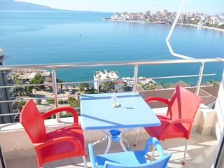 Luxury apartment with sea view in Saranda - Sarande vacation rentals