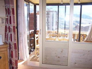SERAC N3 - Apartment with one room in Val Thorens, with wonderful mountain view - Val Thorens vacation rentals