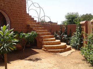 Une voûte nubienne à Ouagadougou - Ouagadougou vacation rentals